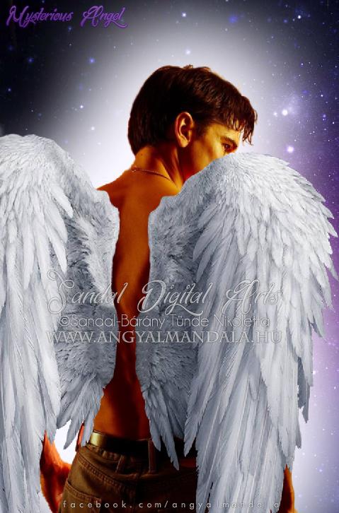 Photo of Mysterious Angel / Titokzatos Angyal ~ spirituális alkotás