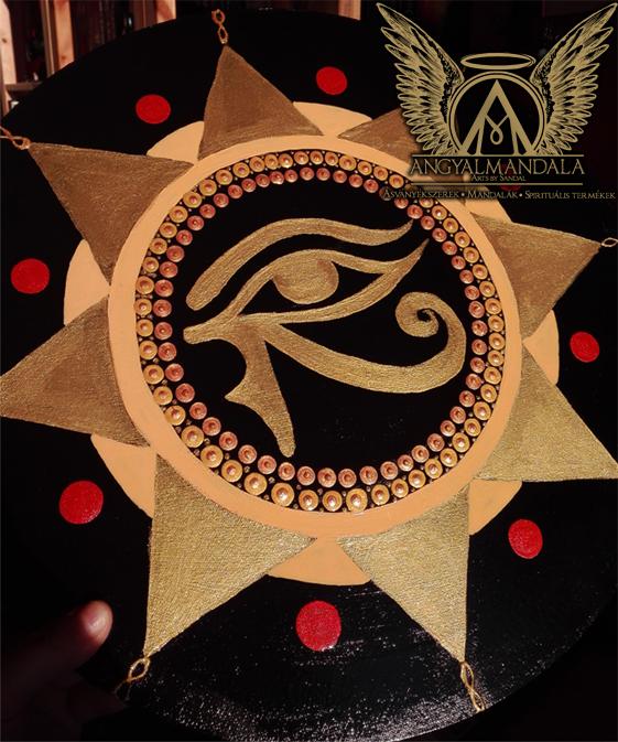 Ősi energiaáramlás ~ angyalmandala festmény