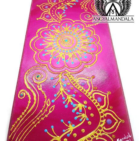 Szeretetvirág~angyalmandala festmény