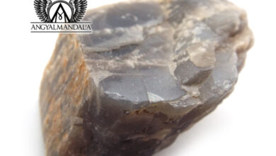 Photo of Nyers fekete holdkő ásvány (EXTRA RITKA!) /India/